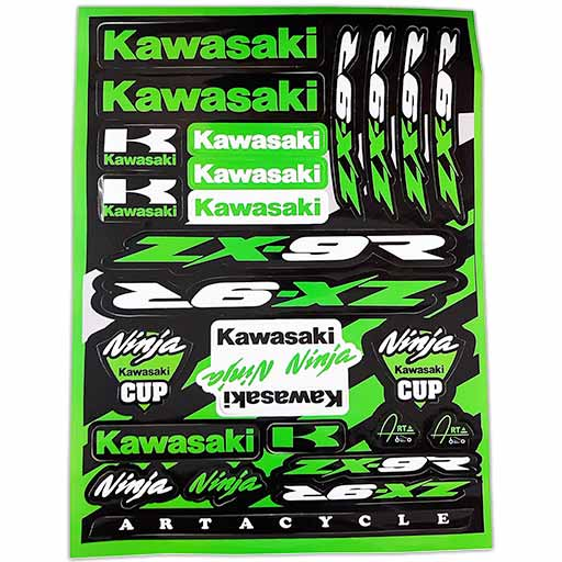 برچسب موتور کاوازاکی