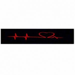تابلو جلو موتور سیکلت طرح ضربان قلب