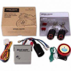 تجهیزات و لوازم دزدگیر استیل میت مدل 986E