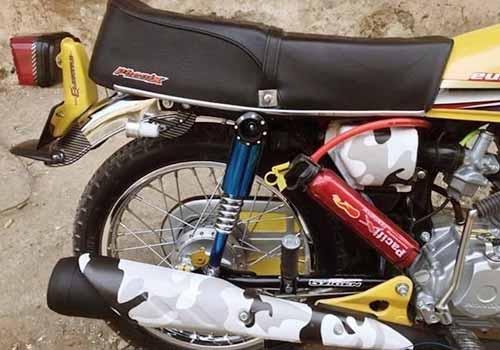 لوازم و وسایل تزئین و زیبایی موتور سیکلت