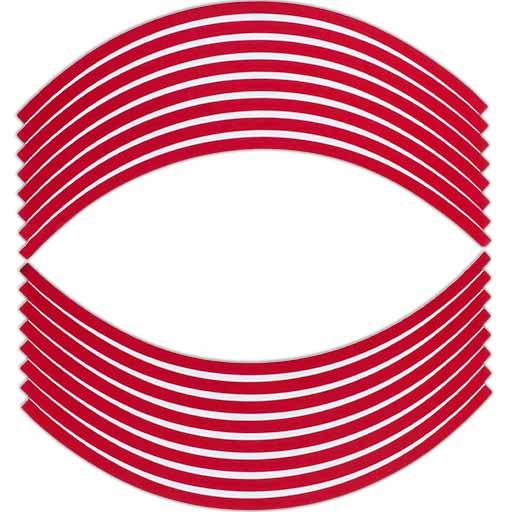 نوار دور لاستیک قرمز