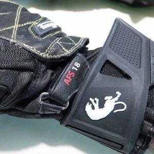 چسب دستکش موتورسواری فوریگان مدل SxS70 مشکی
