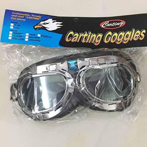 بسته بندی عینک موتور سواری کارتینگ مدل T06