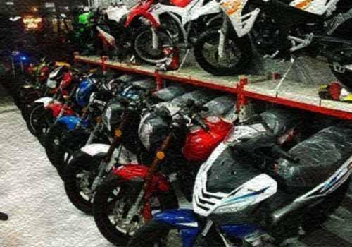 فروش موتور سیکلت مستقیم از گمرک