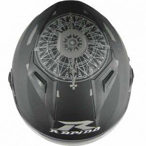 نمای بالای کلاه کاسکت راپیدو مدل JAZZ