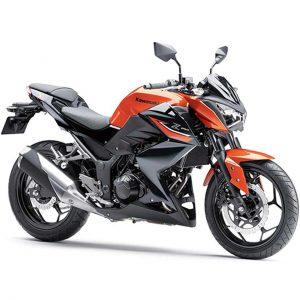 موتورسیکلت KAWASAKI Z 249 قرمز نارنجی