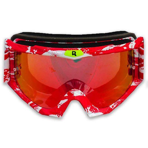 عینک قرمز موتور سواری