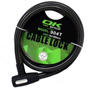 قفل کابلی اوکی مدل ۹۰۴t 181800
